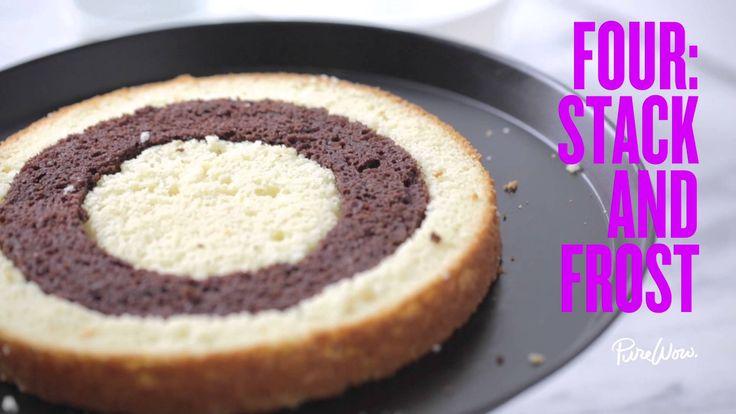 Checkerboard Cake Recipe Bbc