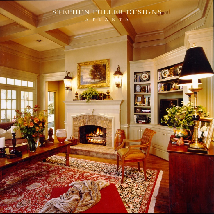 Living Room - traditional - living room - atlanta - Stephen Fuller Designs