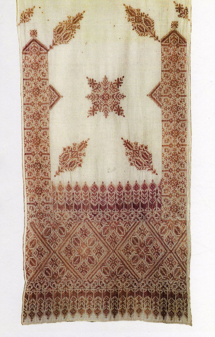Fès (via Rosemary Eskew, Moroccan Embroidery)