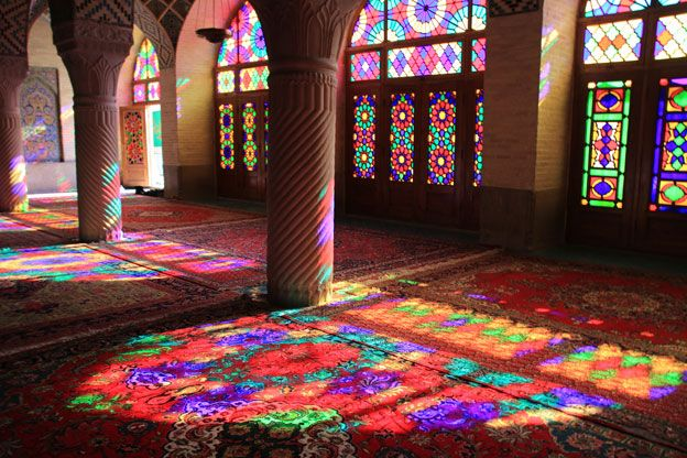 Masjed-e Naseer ol Molk or Pink Mosque is a traditional mosque in Shiraz, Iran