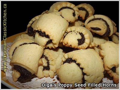 Poppy Seed Filled Horns (Makovi Rohalyky)