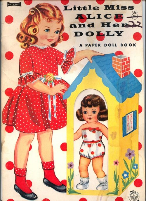Little Miss Alice and Her Dolly - Book posted over a period of 3 days