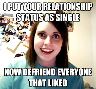 Overly Attached girlfriend is preparing - http://umad.com/overly-attached-girlfriend-is-preparing/ - Memes, OverlyAttachedGirlfriend