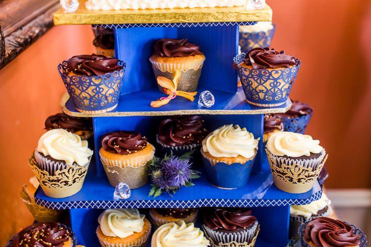 Cupcake Wedding Cake, Fall Wedding,