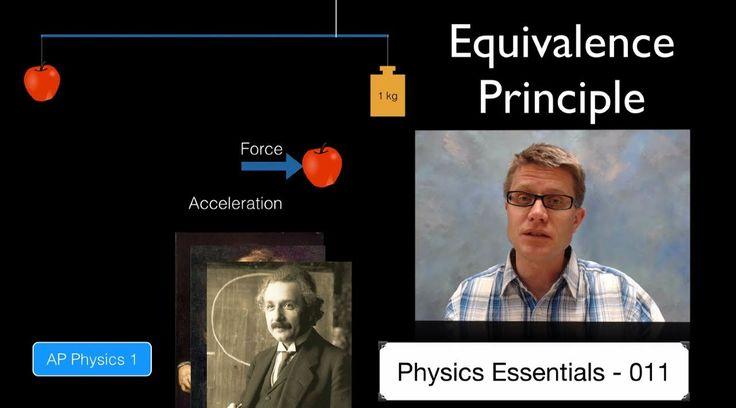 Equivalence Principle: In this video Paul Andersen explains how inertial mass and gravitational mass are equivalent. He shows you too simple methods for calculated individual inertial mass and gravitational mass. Albert Einstein used this principle to build his general theory of relativity.
