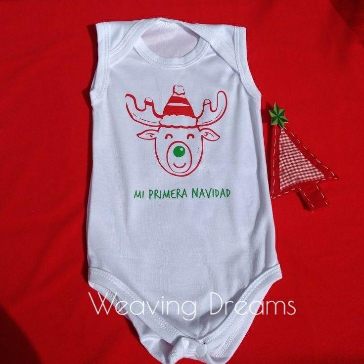 Body Mi primera Navidad  Personalizamos tus prendas #dreweaving Envíos a toda Colombia WhatsApp 📲 3043370188