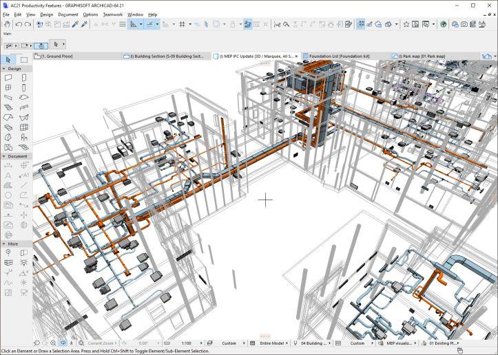 برنامج اركيكاد 2019 للتصميم المعماري Archicad 22 Build 4023 Mac للماك Design Programming Apps Floor Plans