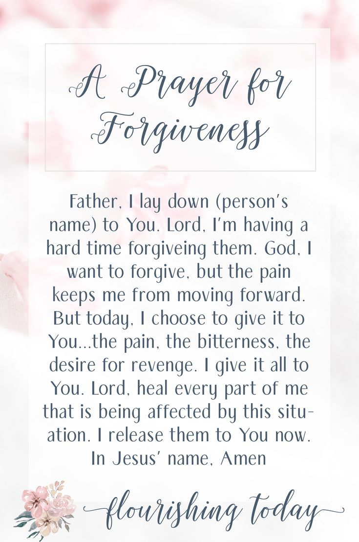 """Have you ever forgiven someone, only to have the """"feelings"""" come up again? Here are a few tips on how to forgive when you can't forget and a prayer for forgiving others. #prayer #prayers #forgiveness"""