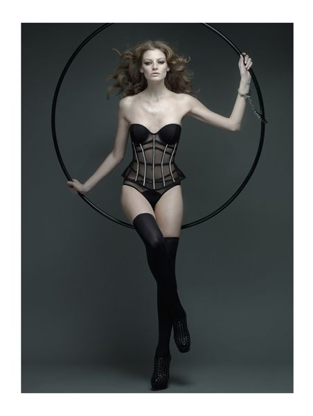 id sarrieri fw 2012 lingerie collection luxus fehérnemű