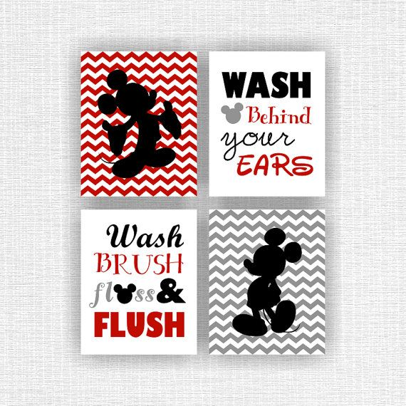 Disney Mickey Mouse Bathroom Decor: 1000+ Images About Mickey Mouse Decor On Pinterest