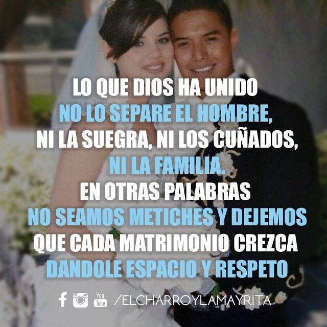 El Charro Y La Mayrita On Instagram Matrimonio Pareja Amor Mommy Quotes Quotes Memes