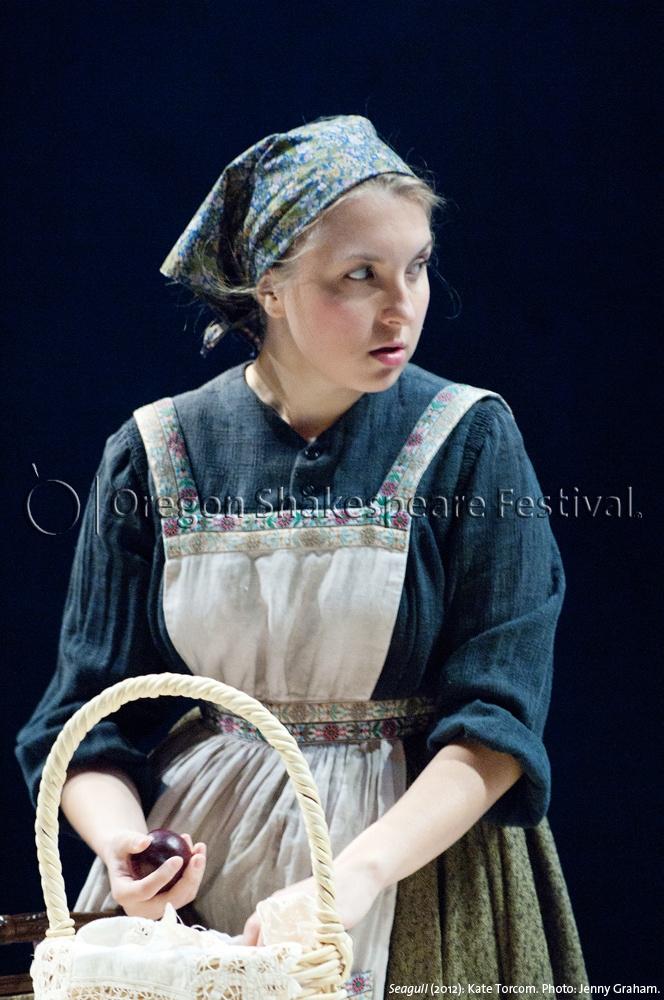 Oregon Shakespeare Festival. SEAGULL (2012): Kate Torcom. Photo: Jenny Graham.