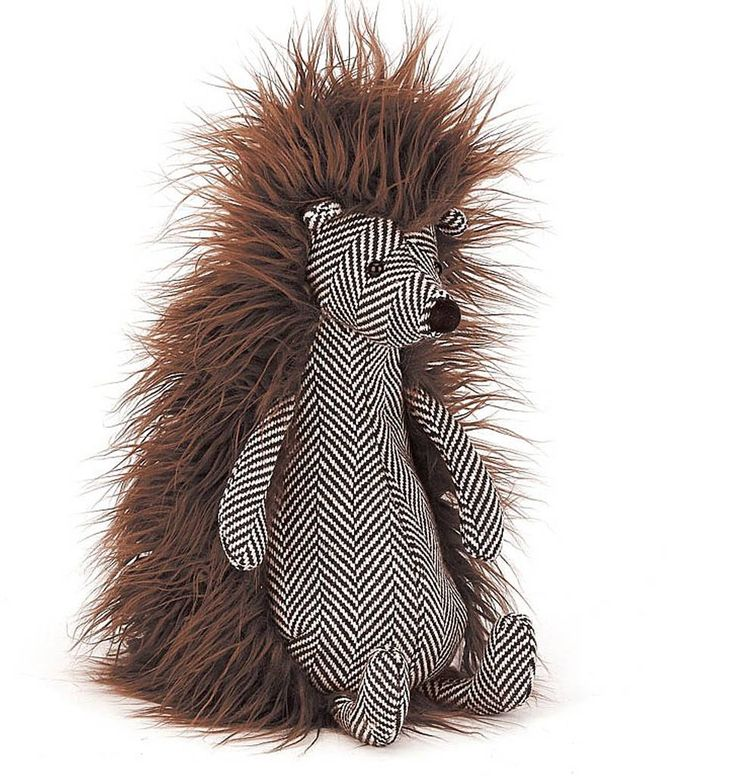 Tweedledee http://www.knuffelsalacarte.nl/nl/jellycat-knuffels-tweedledee-egel.html