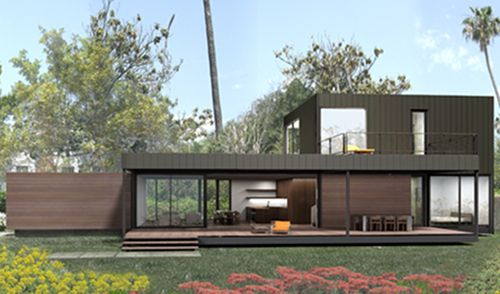 47 best images about prefab design on pinterest for Mid century modern prefab homes