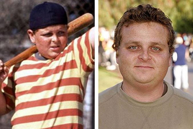 """The Sandlot Cast Then And Now... """"you're killing me Smalls!"""" Love it"""