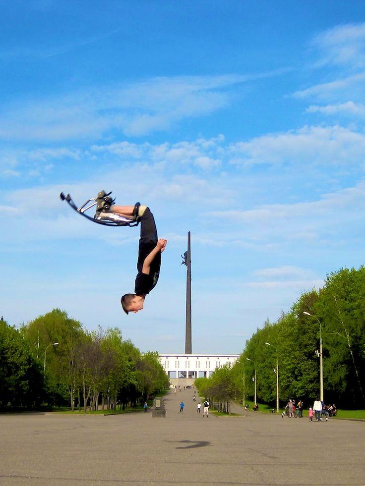 """Московская бокинг команда """"Хулиганы"""" на тренировке"""
