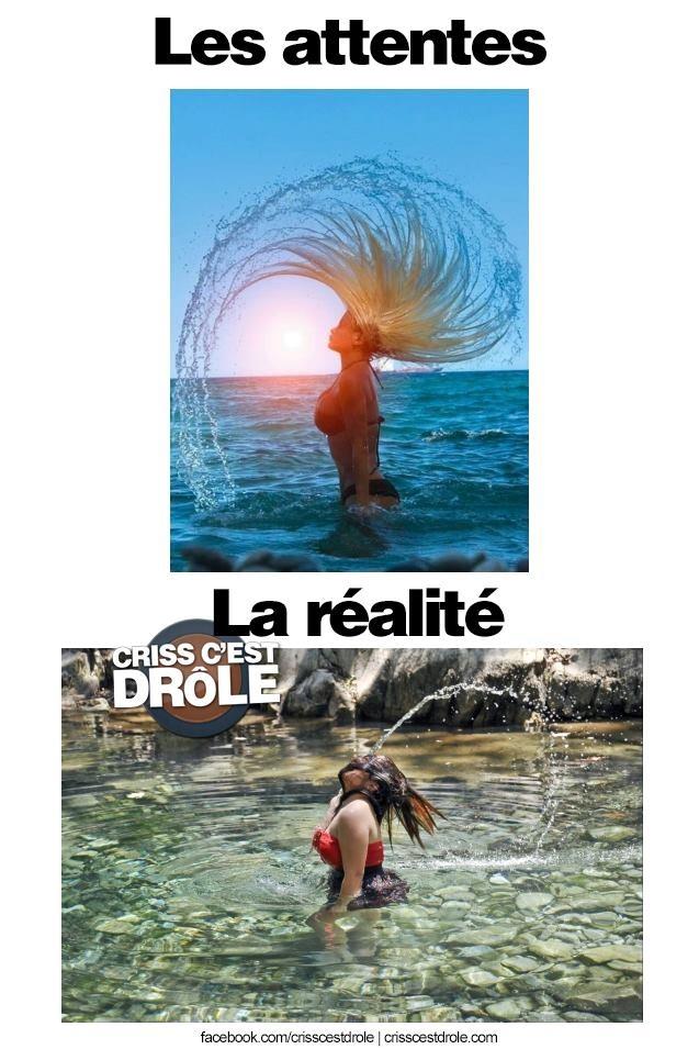 Attente vs réalité (lol)
