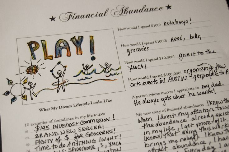financial environments worksheet