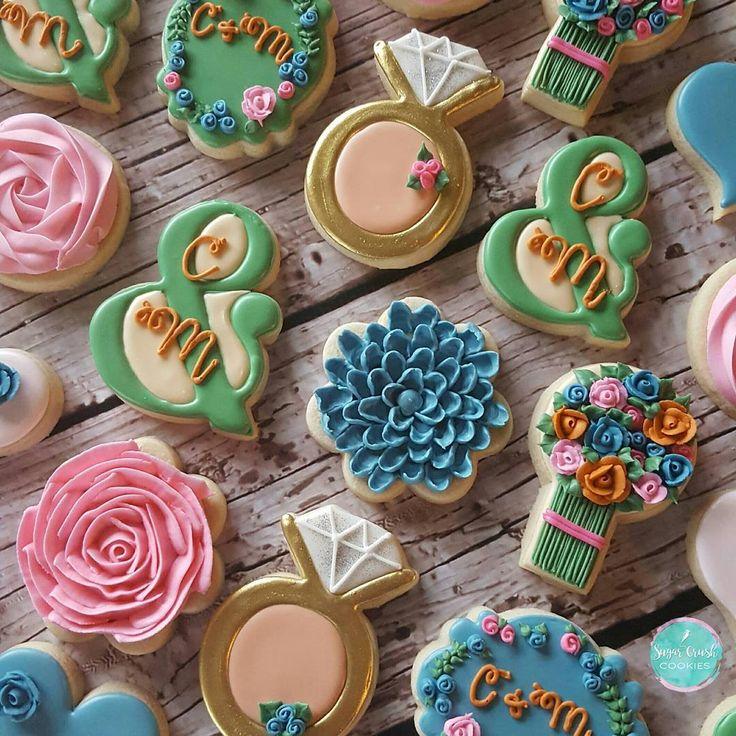 191 best Cookies: Wedding images on Pinterest