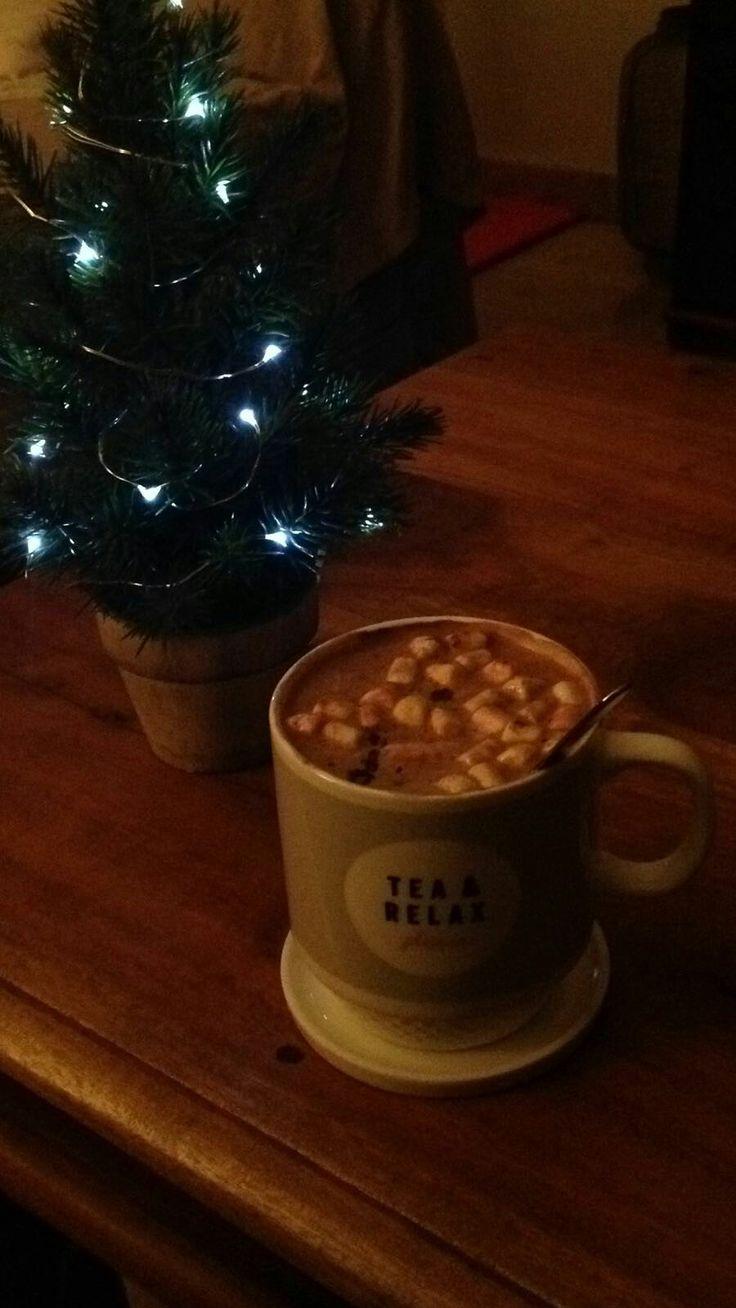 Hot  Christmas Chocolate