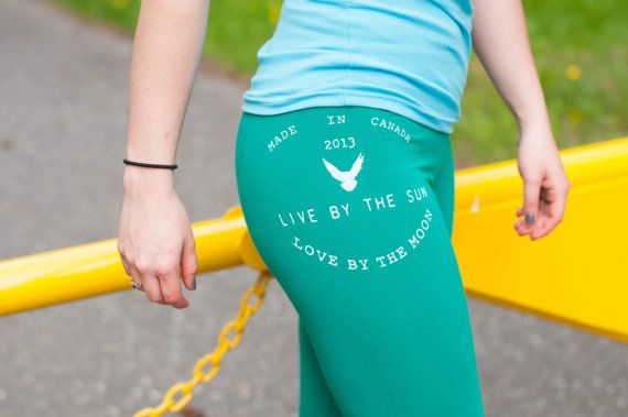 Live by the Sun Love by the Moon Green Workout by PiperAthletica, $38.00