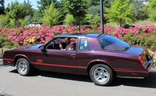 No Reserve Aerocoupe 1987 Chevrolet Monte Carlo Chevrolet Monte Carlo Monte Carlo Chevrolet