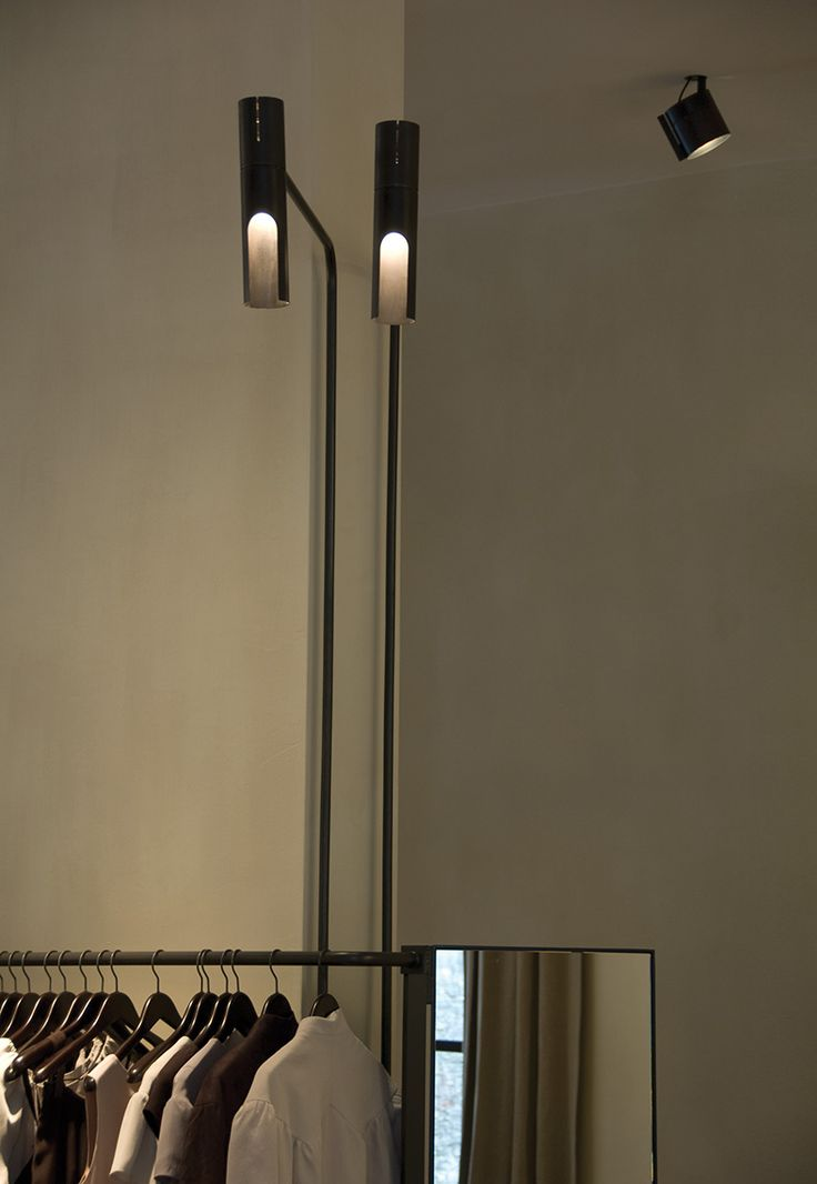 Lighting by pslab for vincent van duysen on graanmarkt 13 boutique antwerp