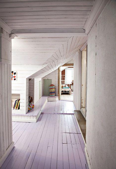 vanhan talon yläkerta