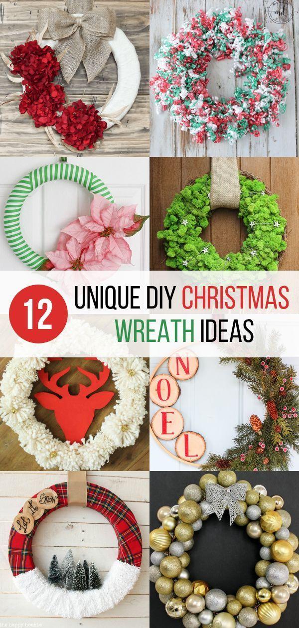 40+ Handmade christmas wreaths info