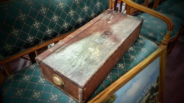 GA1173   -   Victorian cedar gun box