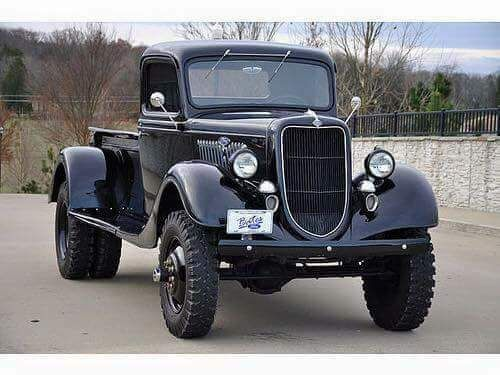 1935 Ford 1 ton 4x4