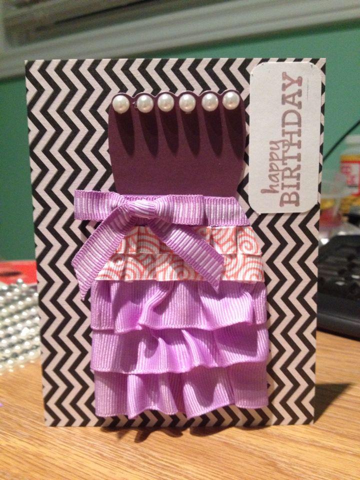 Marlene's 34th bday card - handmadewithlove