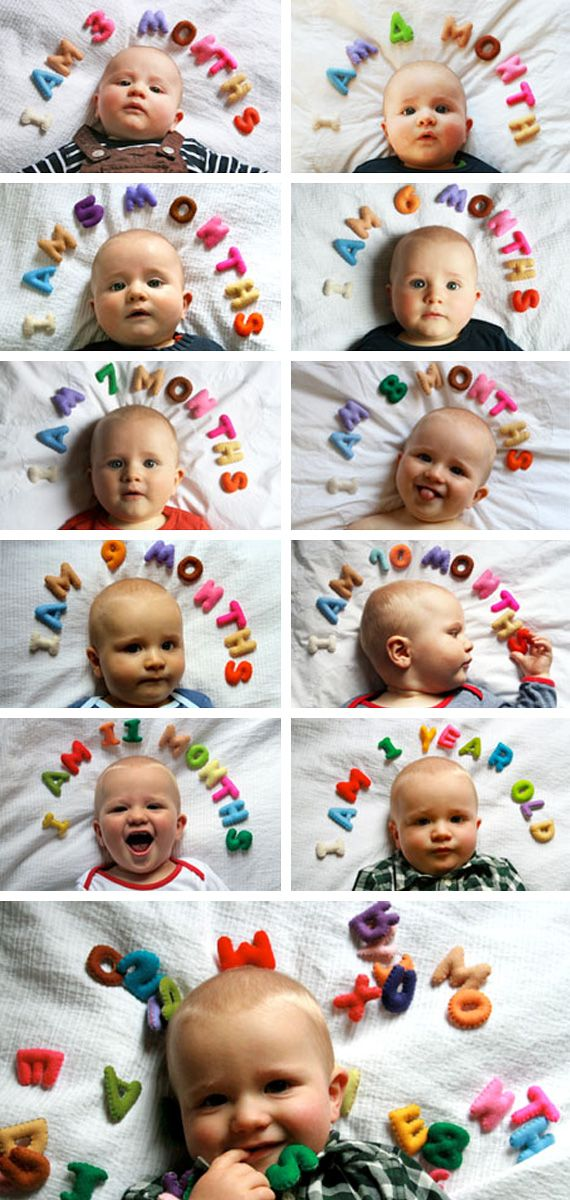 A photo a month for the whole first year - document how they grow and change.  This is an amazing keepsake every mom will be glad they have