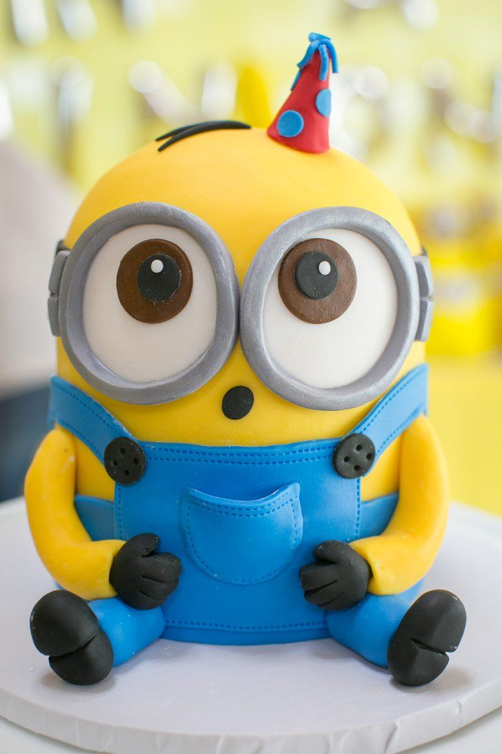 Pin for Later: This One in a Minion Birthday Party Will Have Your Kiddo Going Bananas