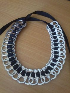 Collier en fermeture de cannettes. ORIGINAL