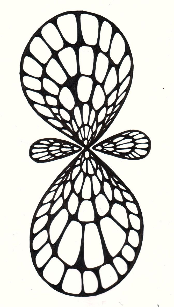 by Vernon Fourie | doodle doodling doodleart zenart pen and ink eternity