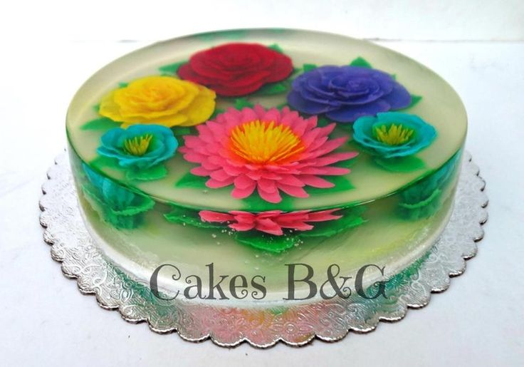 Cake Decorating Gelatin : 3D Jello cake - by cakesbg @ CakesDecor.com - cake ...