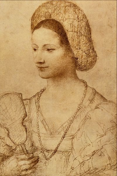 File:Portrait of a Lady with a Fan - Bernardino Luini.png