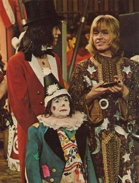 Mick and Brian at the Rock and Roll Circus.
