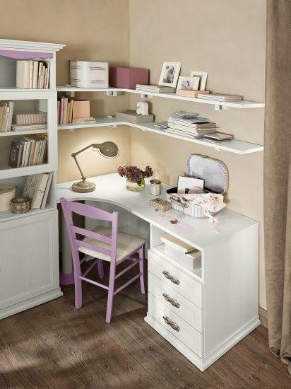 Jurnal de design interior - Amenajări interioare : Amenajare clasică pentru camera unei adolescente