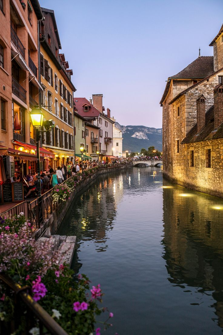 Sunset in Annecy, France | by Ivan Bukin on 500px