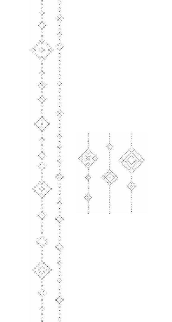 Cross Stitch Decorative Band Pattern
