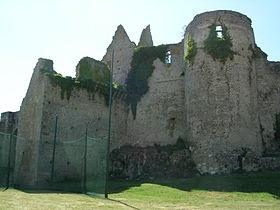 Château de Bressuire, sa ruine est bien antérieure aux Guerres de Vendée. Il est classé à l'ISMH depuis 1926. Comme nombre de forreresses médiévales, ce chateau, avec les progrès de l'artillerie, perdra vite toute valeur militaire et cessera d'être utilisé dès le 17°s.