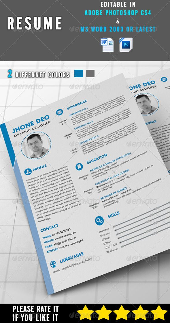 Simple Resume 18 best Kickresume Templates Gallery