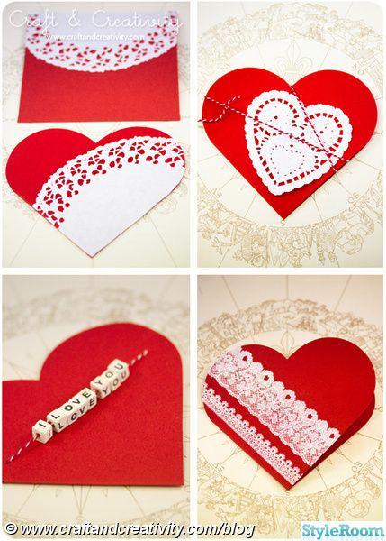 pyssel,papper,kort,brevkort,alla hjärtans dag