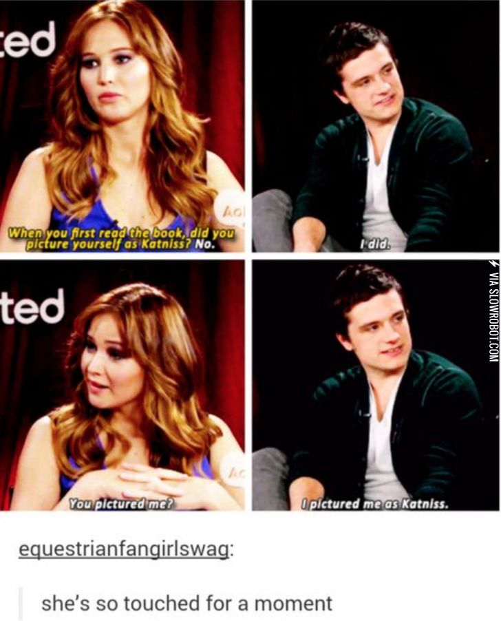 Jennifer was really touched for a moment.... Before Josh shattered her bubble