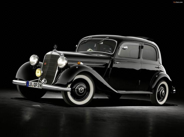 Mercedes-Benz 170 V von 1936 – Urahn der E-Klasse – Mercedes-Benz 170 V von 1936 – Urahn der E-Klasse