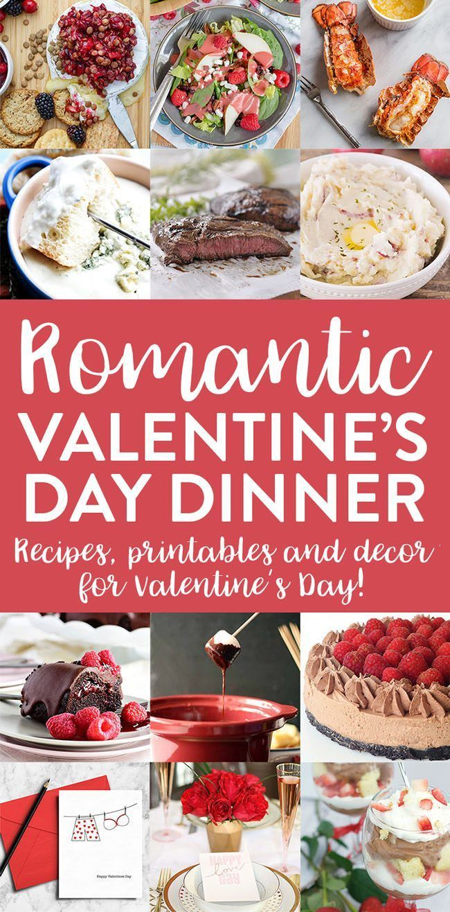 25 best ideas about valentines day dinner on pinterest for Valentine day dinner recipe