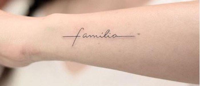 31 Tatuagens com a palavra Família para você se inspirar #tatuagensfeminina #t …  – tattoo stuff