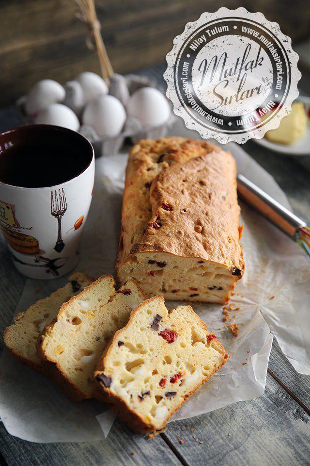 Peynirli Kek (Tuzlu Kek) Tarifi   Mutfak Sırları